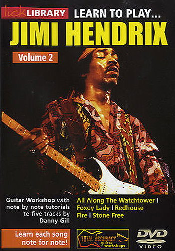 Lick Library : Learn To Play Jimi Hendrix