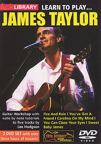 Lick Library : Learn To Play James Taylor (DVD)