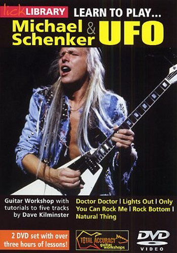 Lick Library : Learn to Play Michael Schenker and UFO
