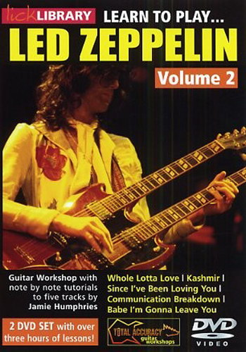 Lick Library : Learn To Play Led Zeppelin (DVD)