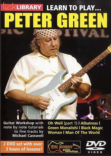 Lick Library : Learn To Play Peter Green (DVD)