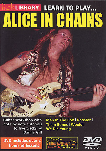 Lick Library : Learn To Play Alice In Chains (DVD)