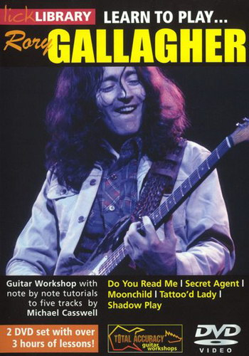 Lick Library : Learn To Play Rory Gallagher