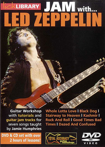 Lick Library : Jam With Led Zeppelin (DVD)