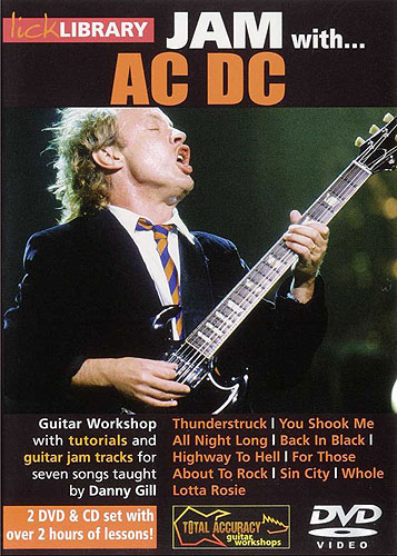 Lick Library : Jam With AC/DC (DVD)