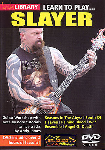 Lick Library : Learn To Play Slayer (DVD)
