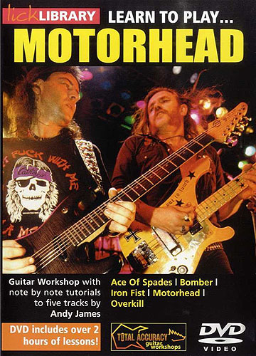 Lick Library : Learn To Play Motorhead