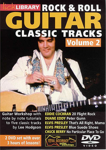 Lick Library : Learn To Play Rock And Roll Classic Tracks (DVD)