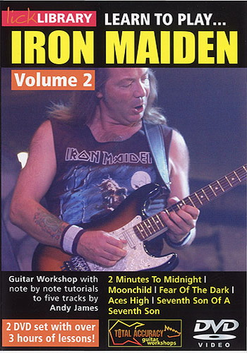 Lick Library : Learn To Play Iron Maiden