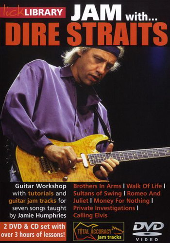 Lick Library : Jam With Dire Straits