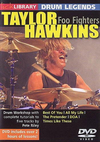 Lick Library : Drum Legends - Taylor Hawkins (DVD)