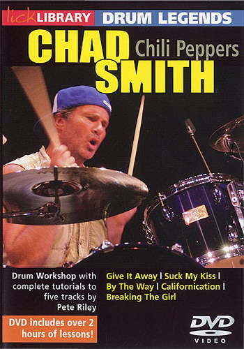 Lick Library : Drum Legends - Chad Smith