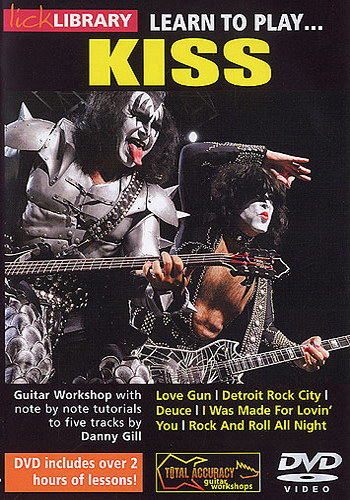 Lick Library : Learn To Play Kiss