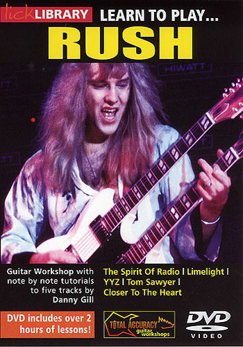 Lick Library : Learn To Play Rush
