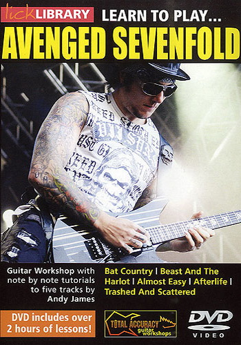 Lick Library : Learn To Play Avenged Sevenfold (DVD)
