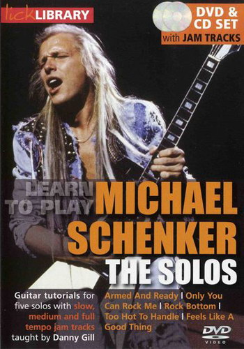 Lick Library : Learn To Play Michael Schenker - The Solos
