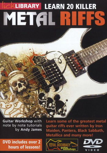 Lick LIbrary : Learn 20 Killer Metal Riffs