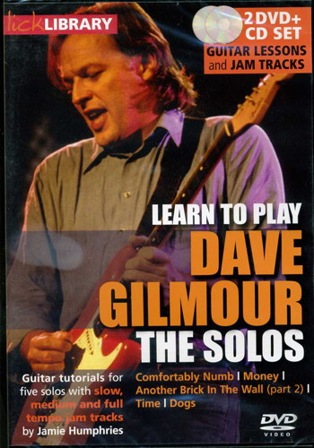 Lick Library: Learn To Play Dave Gilmour - The Solos