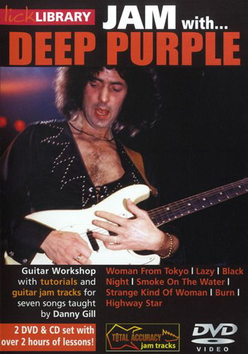 Lick Library : Jam With Deep Purple