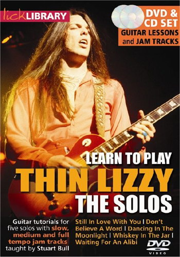 Lick Library : Learn to Play Thin Lizzy - The Solos