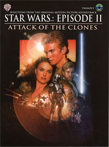 John Williams: Star Wars Episode II Attack Of The Clones For Trumpet