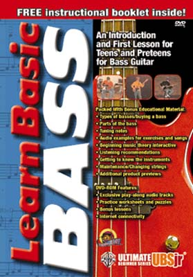 Ultimate Beginner Series Jr.: Learn Basic Bass (DVD)