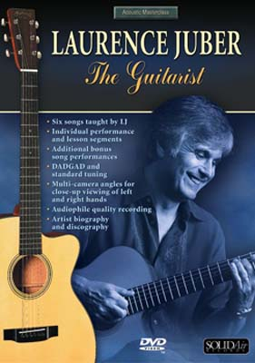 Acoustic Masterclass Series :  Laurence Juber -  The Guitarist (DVD)