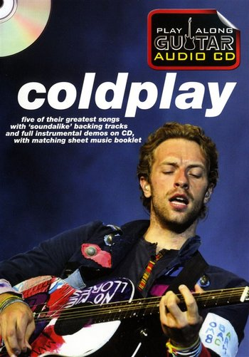 Play Along Guitar Audio CD : Coldplay (Partition+CD)