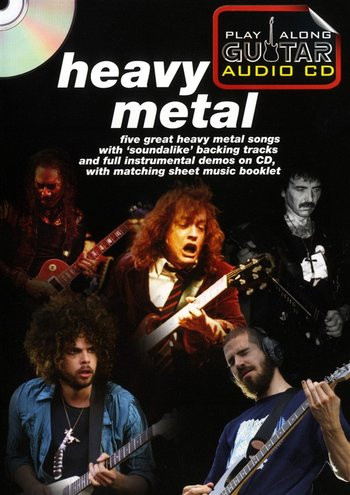 Play Along Guitar Audio CD : Heavy Metal (Partition+CD)