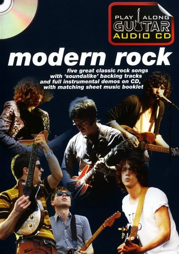 Play Along Guitar Audio CD : Modern Rock (Partition+CD)