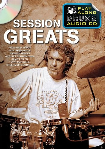 Play Along Drums Audio CD : Session Greats