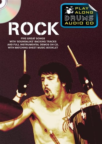 Play Along Drums Audio CD : Rock