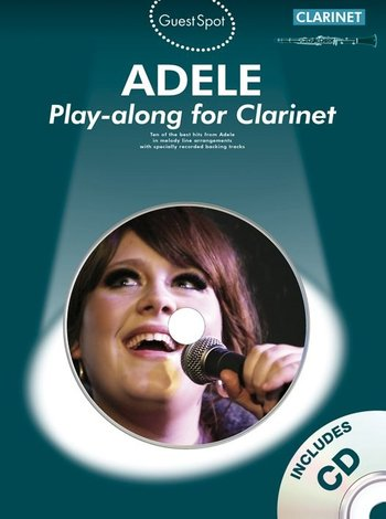 Guest Spot : Adele - Play-along for Clarinet