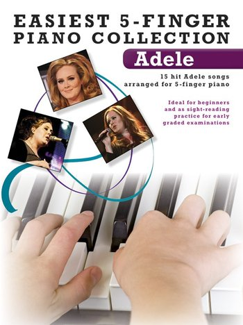 Easiest 5-Finger Piano Collection : Adele