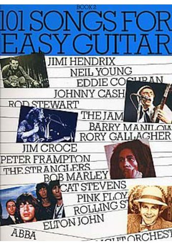 101 Songs for Easy Guitar (Partition)