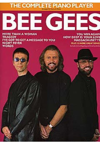 The Complete Piano Player Bee Gees