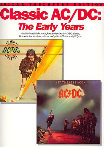 Classic AC/DC : The Early Years (Partition)