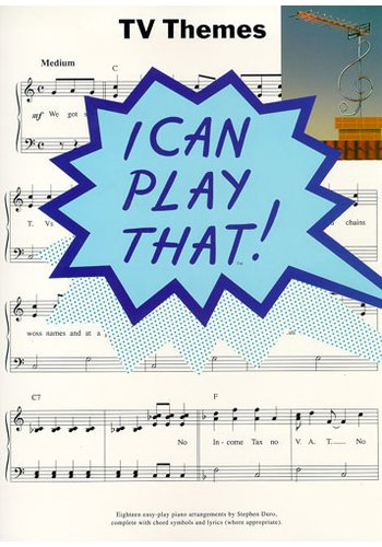 I Can Play That!: TV Themes
