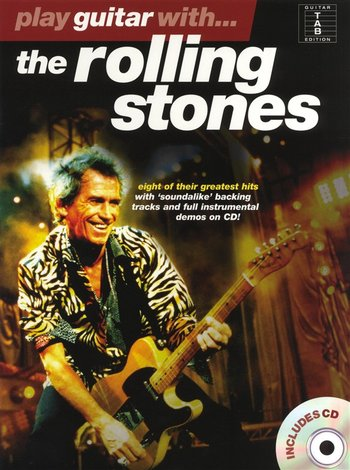 Play Guitar With... The Rolling Stones (Partition+CD)