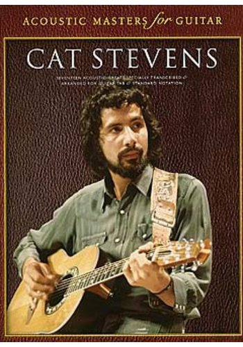 Acoustic Masters for Guitar : Cat Stevens (Partition)