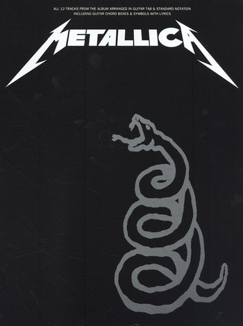 Metallica : The Black Album (Partition)