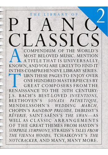 The Library Of Piano Classics Book 2