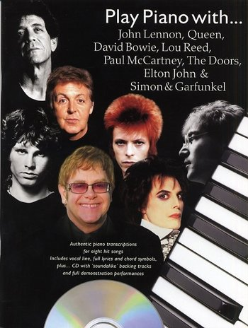 Play Piano With... John Lennon, Queen, David Bowie, Lou Reed, Paul McCartney, The Doors, Elton John and Simon And Garfunkel