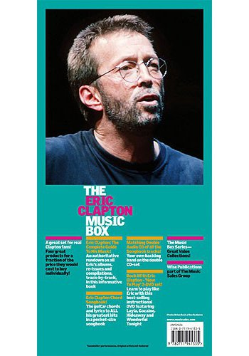 Eric Clapton Music Box (Partition+CD+DVD)