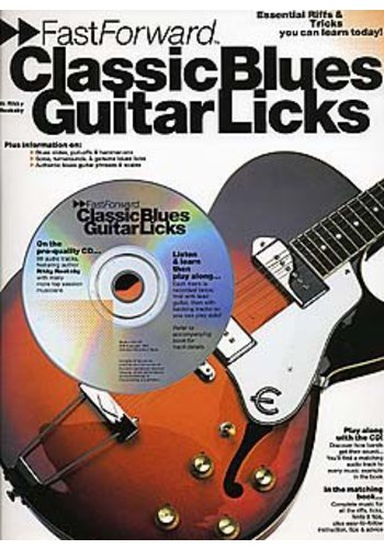Fast Forward Classic Blues Guitar Licks (Partition+CD)