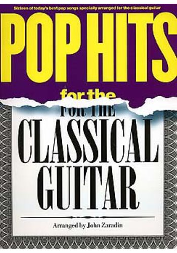 Pop Hits For Classical Guitar (Partition)