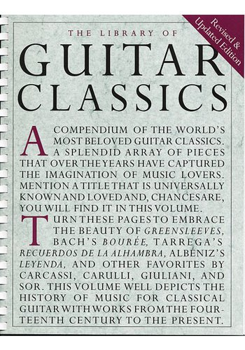 The Library Of Guitar Classics (Partition)