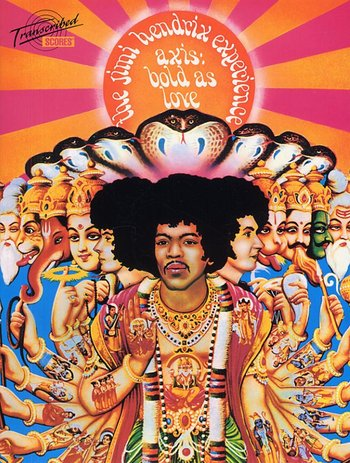 Jimi Hendrix:Axis: Bold As Love (Transcribed Score)