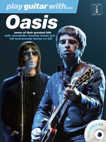 Play Guitar With... Oasis (Partition+CD)