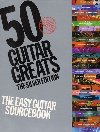 50 Guitar Greats : The Silver Edition (Partition)